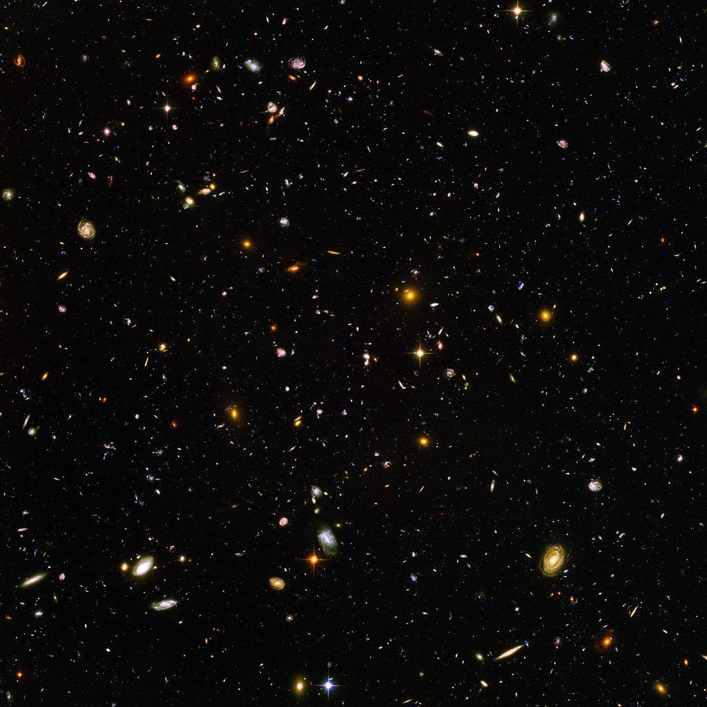 Hubble Ultra Deep Field (high resolution)