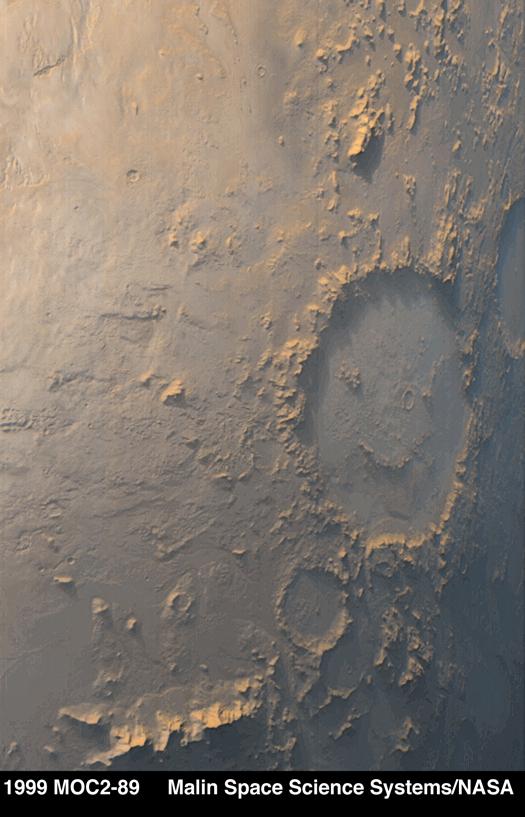 Mars Happy Face