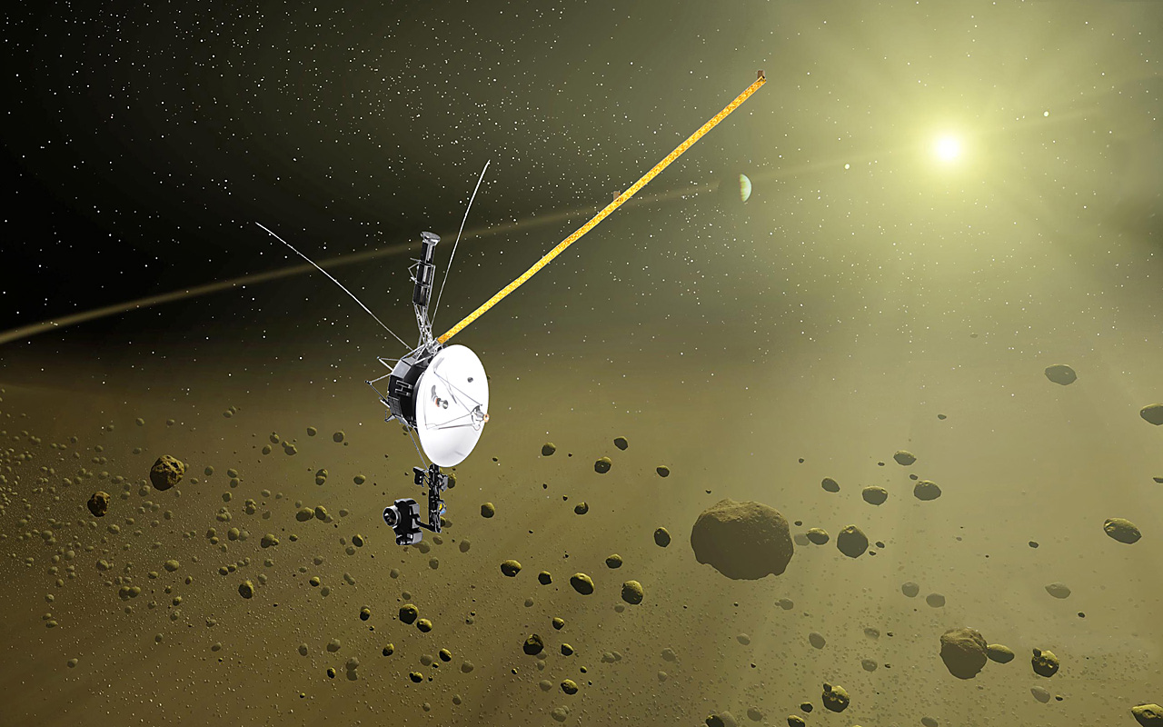Happy 36th Birthday Voyager 1!