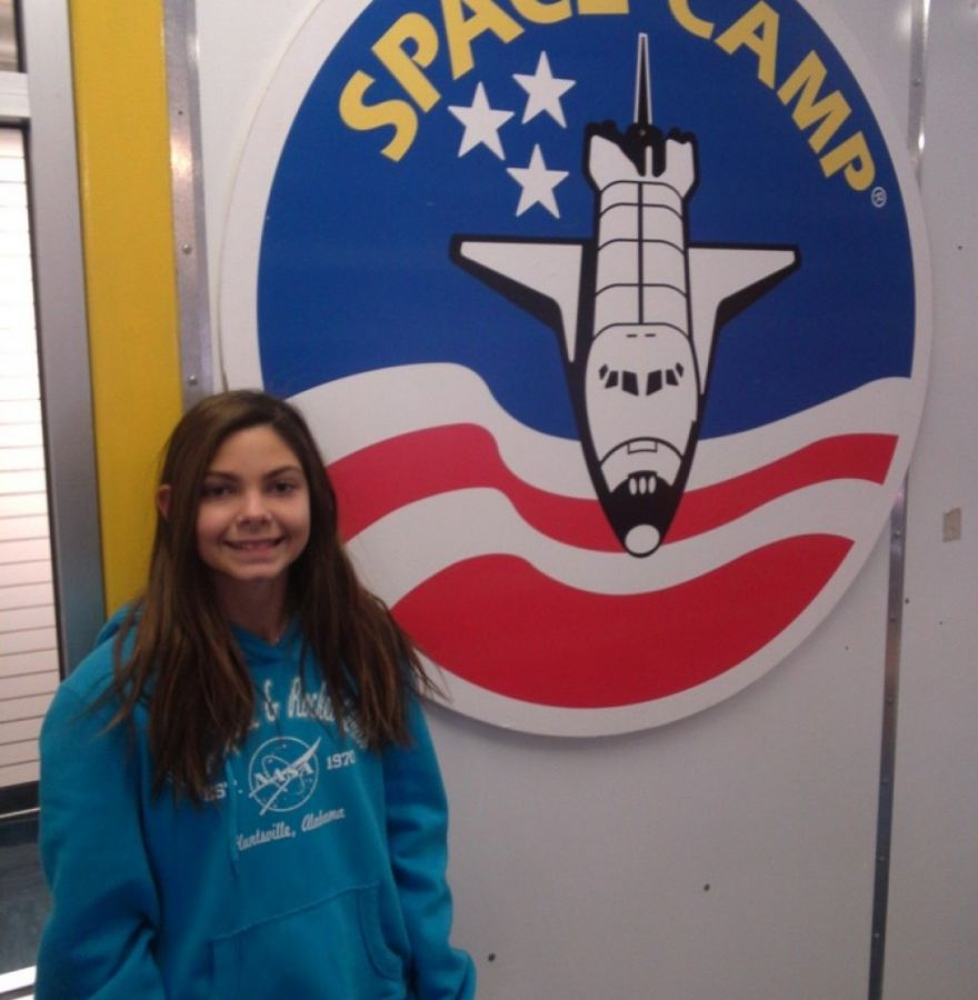 Alyssa Carson at Space Camp