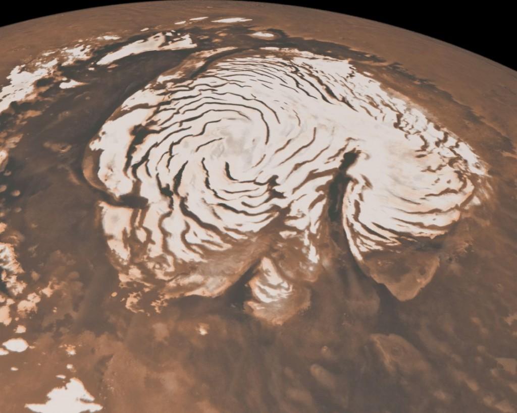 Mars-Polar-Caps