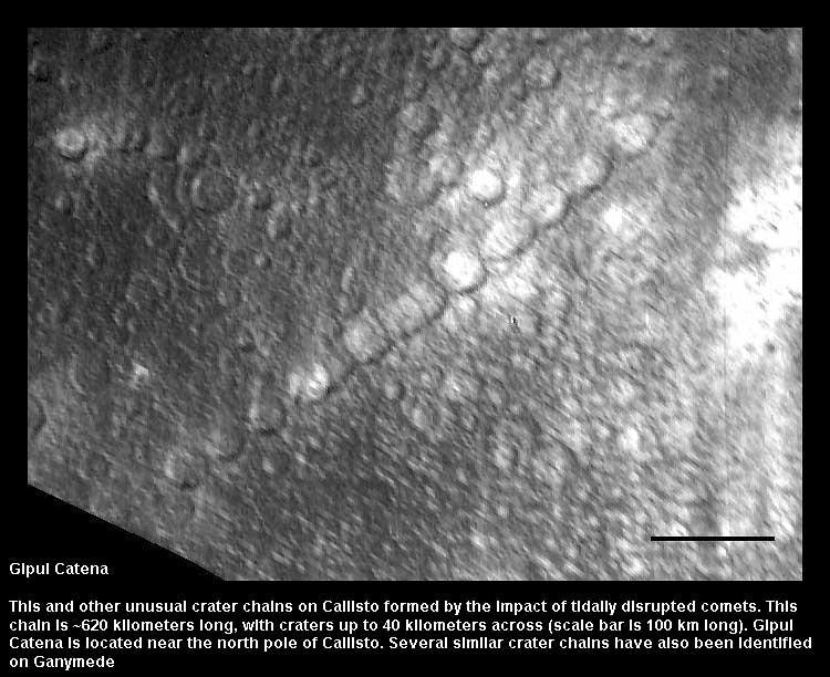 gipul crater - Callisto