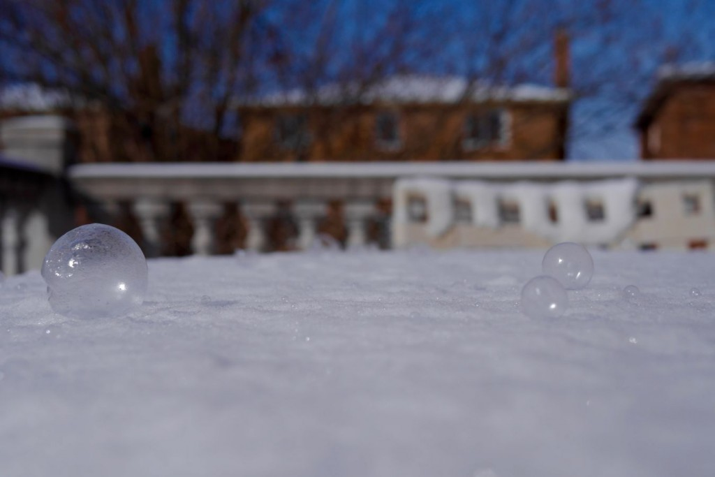 Frozen Bubbles in Toronto part deux
