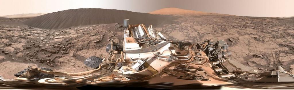 Namib Dune in Color - Mars