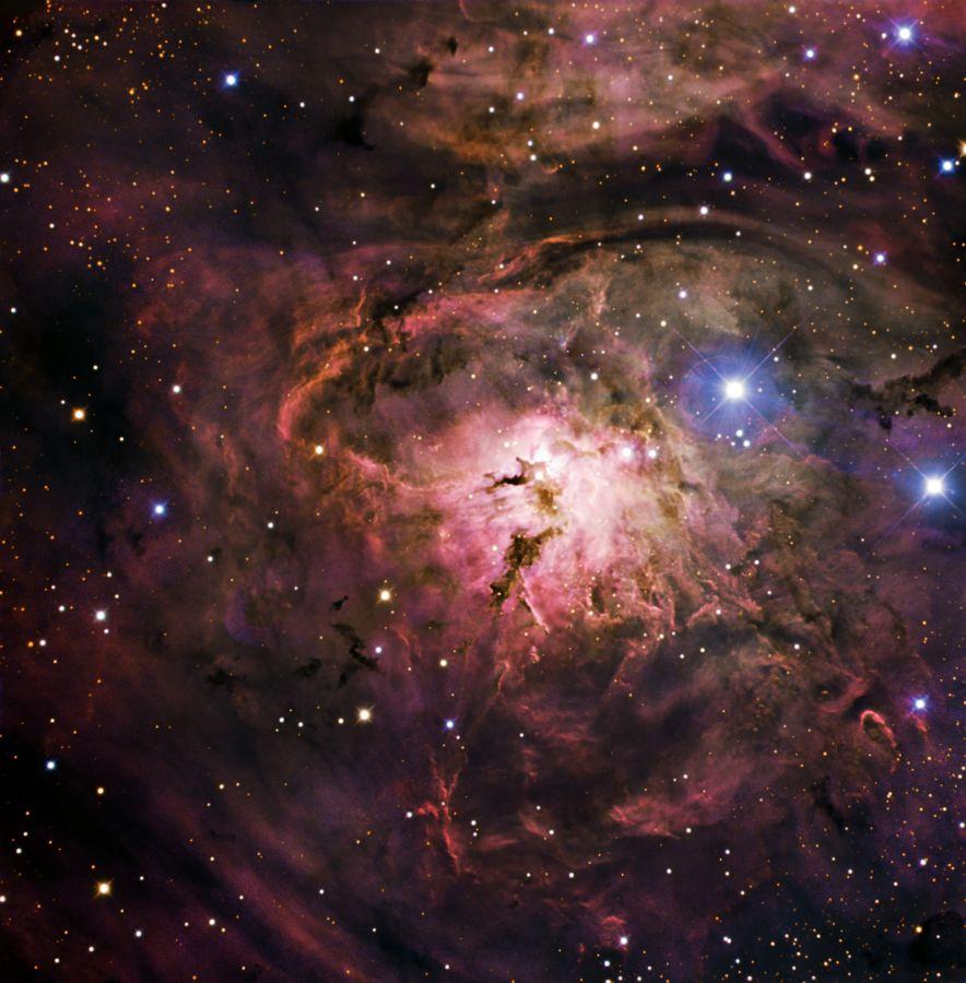 Glow of Lagoon Nebula