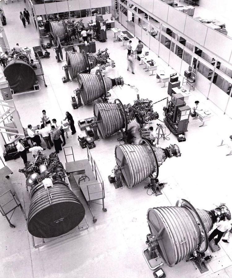 Production floor NASA