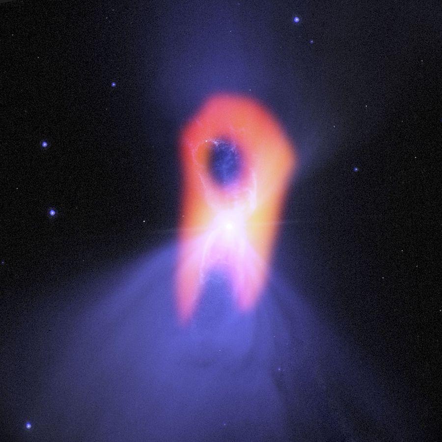 Credit: Bill Saxton; NRAO/AUI/NSF; NASA/Hubble; Raghvendra Sahai